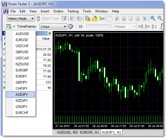 Forex control center import