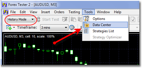 Forex tester tick data
